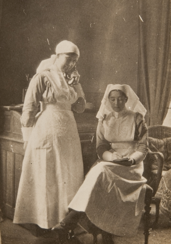 Nurse Allan and nurse<br />
