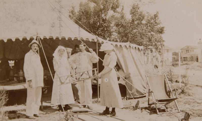 Edinburgh tent, 1916<br />
