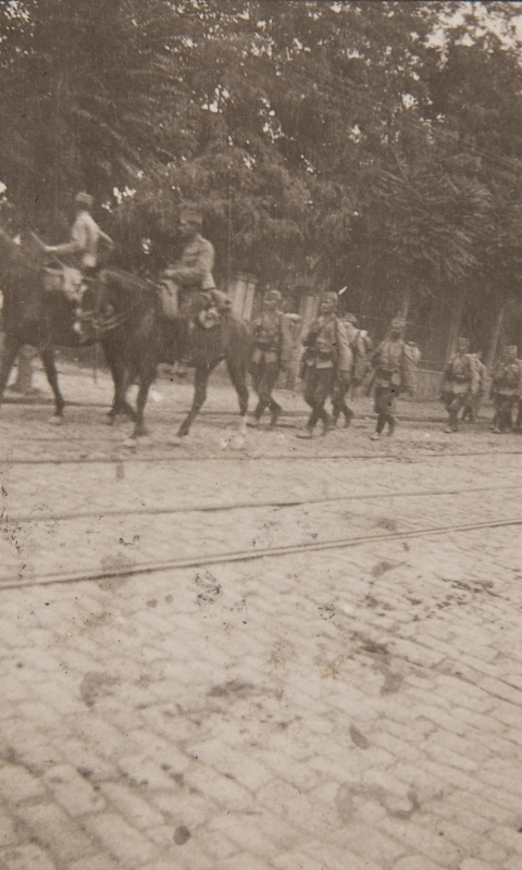 Salonique, Serbian army 1916<br />