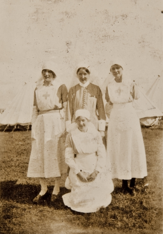 Red cross nurses<br />