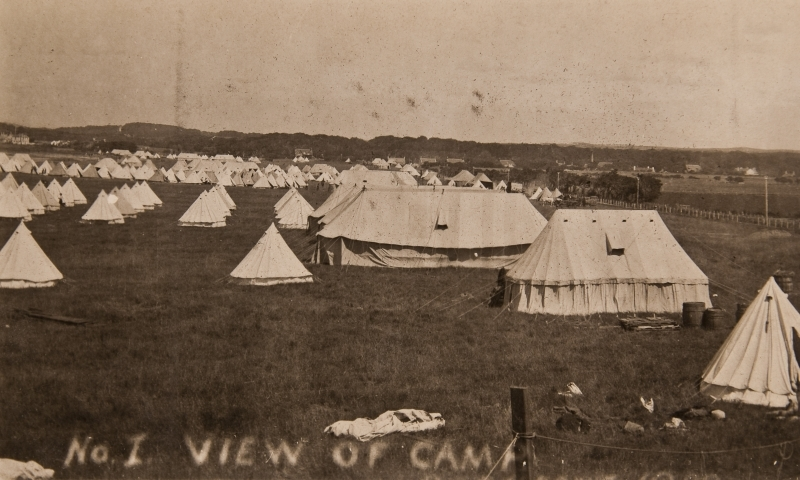 View of camp<br />