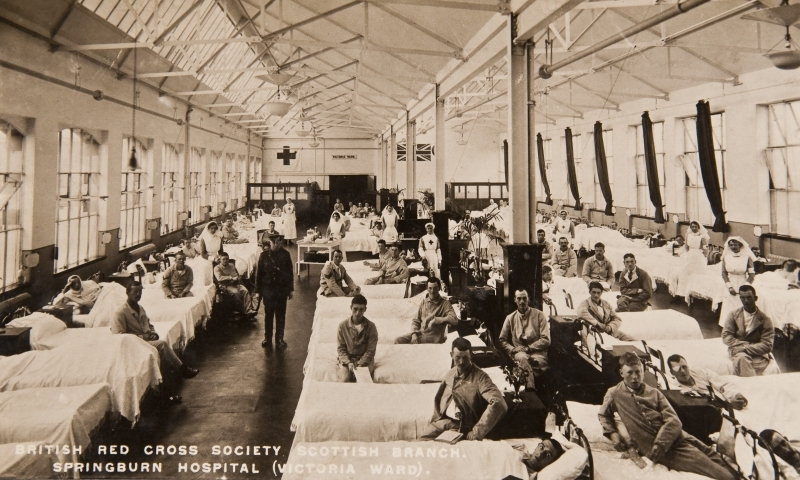 British Red Cross Societ, Scottish Branch. Springburn Hospital (Victoria Ward)<br />