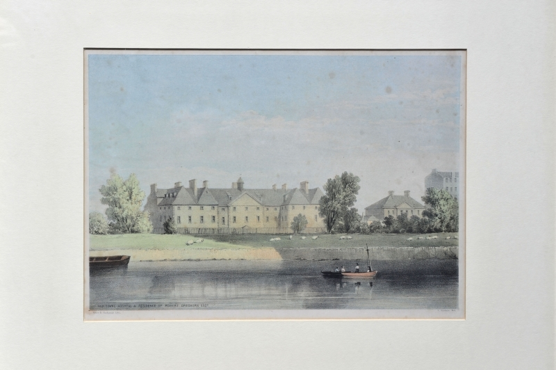 190 - Old Towns Hospital and Residence of Robert Cleghorn Esq.jpg