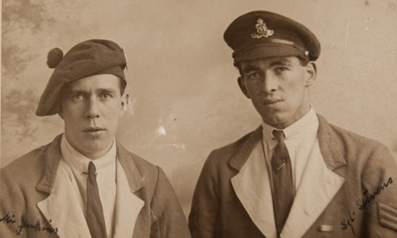 Private Jenkins (left) and Sgt Stevens (right)<br />