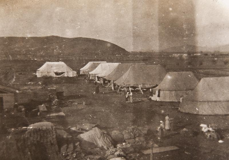 Camp Guevgheli Serbia 1916<br />