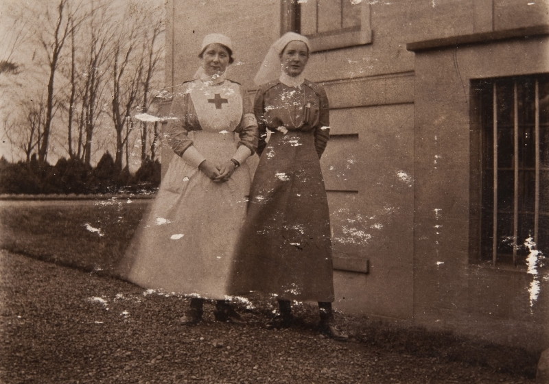 Allan and nurse, Caldegrove
