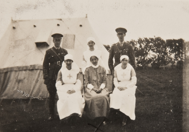 Red cross nurses post war<br />