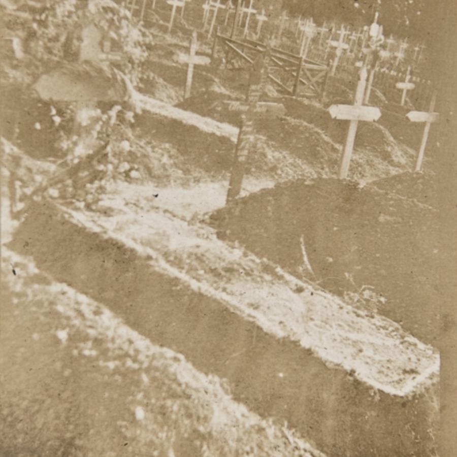 Sister Burt's grave<br />