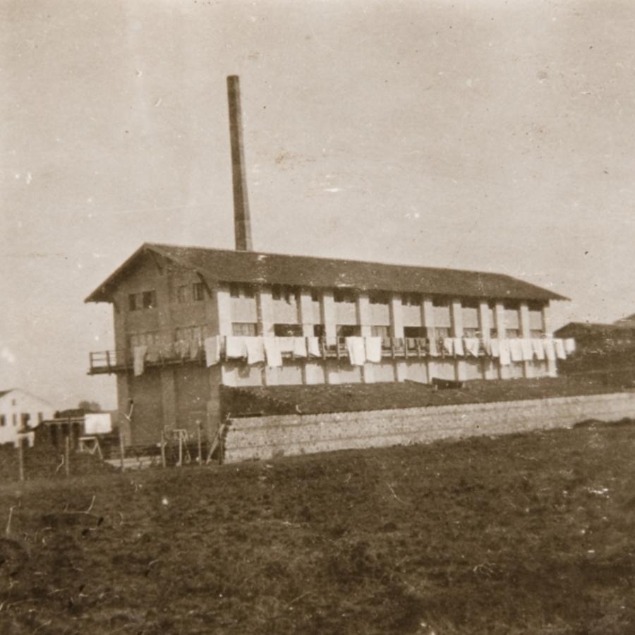 Silkworm factory, Guevgheli, Serbia<br />