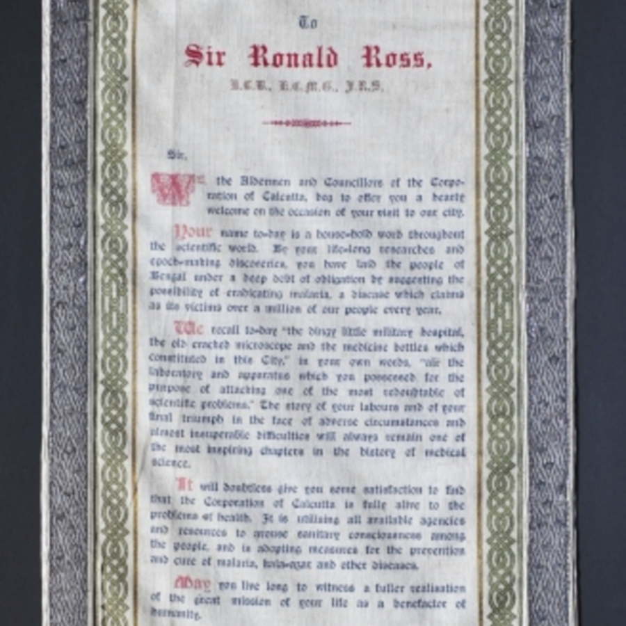 348 - Banner Address to Sir Ronald Ross.jpg