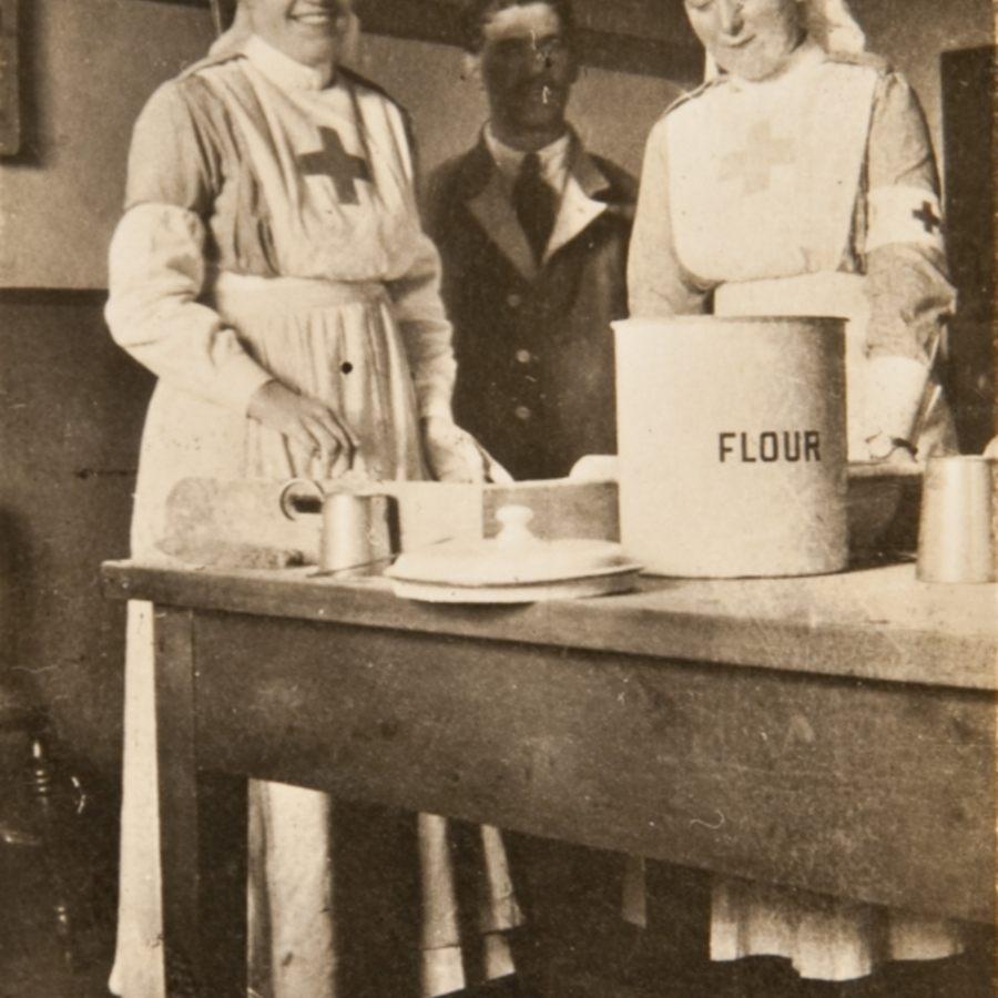Kitchen, Red Cross Hospital<br />