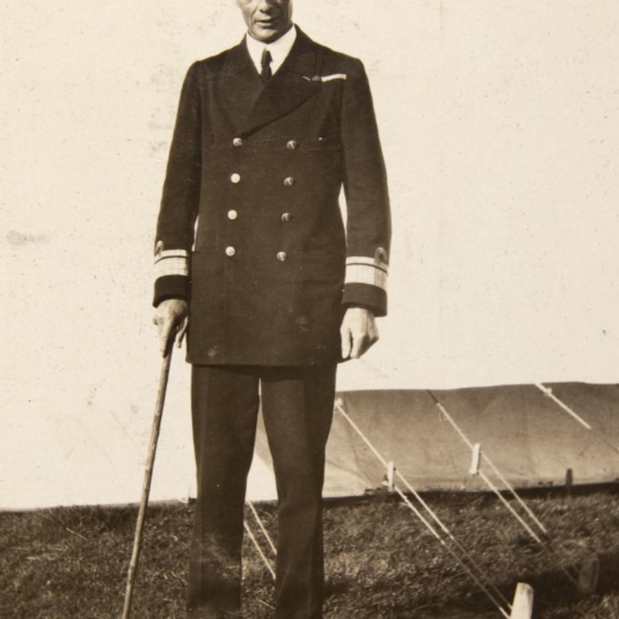 HMS Exmouth, Admiral Stewart Nicholson<br />