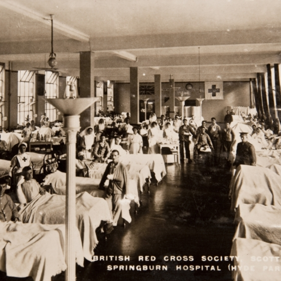 British Red Cross Societ, Scottish Branch. Springburn Hospital (Hyde Park Ward)<br />