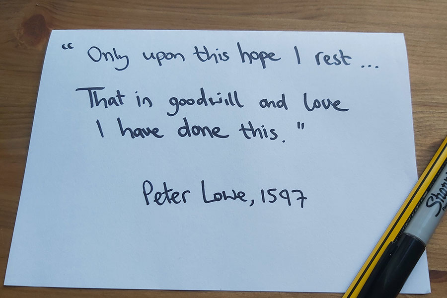 Peter Lowe quote